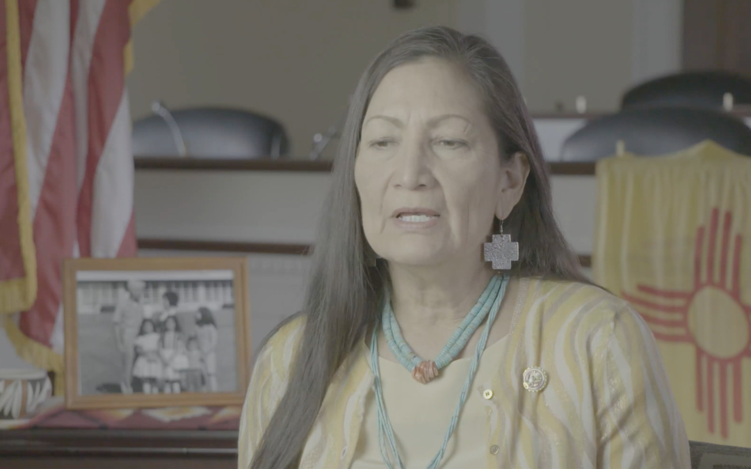"Deb Haaland (Interviewed for ""Imagining the Indian"") Becomes First Native American Cabinet Secretary"
